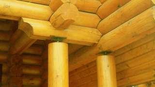 Усадка деревянного дома. От чего зависит величина усадки. Компенсация усадки