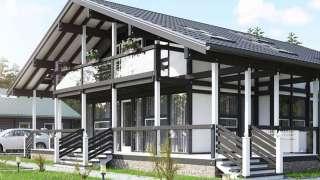 Каркасный дом. Виды каркасных домов, особенности технологии