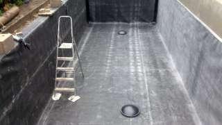 Смотровая яма гаража. Гидроизоляция