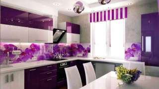 Фиолетовый цвет в интерьере. Невероятный антистресс и холод релаксации