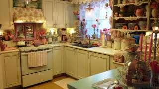 Интерьер кухни в стиле шебби шик – для романтических и очень экономных женщин