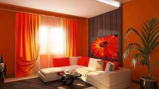 Интерьер с апельсином. Оранжевая гамма – тепло и витамины