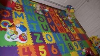 Для детской комнаты – мягкий пол из этиленвинилацетатной плитки