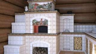 Облицовка печи. Майолика, клинкер, керамогранит, изразцы или керамическая плитка