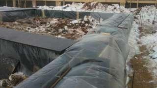 Бетонирование на частном участке зимой. Прогрев бетона