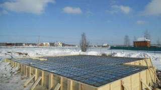 Бетонирование на частном участке зимой. Прогрев бетона – основные способы. Способ термоса