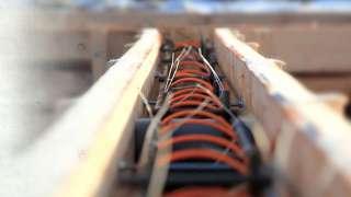 Бетонирование на частном участке зимой. Прогрев бетона – основные способы. Прогрев проводом