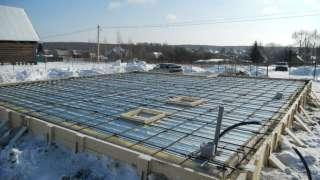 Бетонирование на частном участке зимой. Прогрев бетона – основные способы. Электродный прогрев