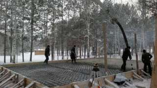 Бетонирование на частном участке зимой. Прогрев бетона – основные способы. Технология электродного прогрева