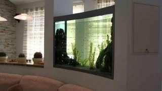 Аквариум в доме: настоящий или имитация. Интерьеры с аквариумами