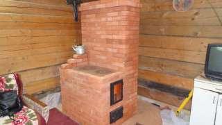Мини-печь из кирпича для дачи своими руками - простая конструкция и эффективность