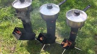 Ракетная печь. Конструкция и принцип действия, достоинства и недостатки