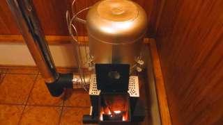 Реактивная печь или буржуйка своими руками из газового баллона