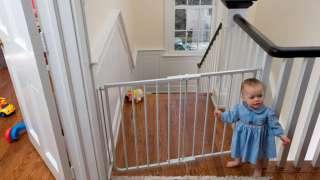 Дом, лестница, дети. Защита лестниц от детей