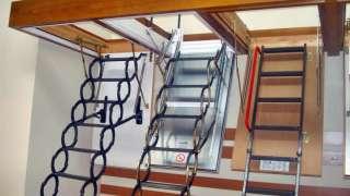 Лестница на чердак. Конструкции и варианты