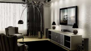 Черный цвет в интерьере - изысканность и гармония