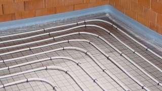 Теплый пол в ванной комнате. Системы, устройство. Водяной теплый пол
