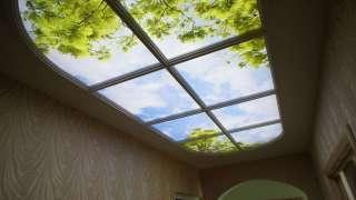 Потолки современной квартиры. Подвесные модульные конструкции, обшивка потолка. Натяжные потолки