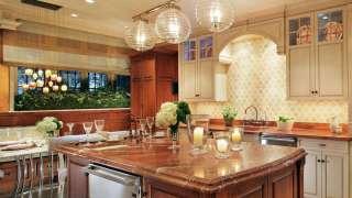 Современная кухня. Организация освещения и декор