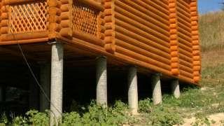 Фундамент из асбоцементных труб для частного дома. Технология устройства