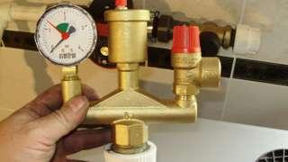 Нормальное рабочее давление в системе отопления