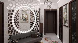 Дизайн маленькой комнаты: интерьер, цвет, освещение, обои и зеркала