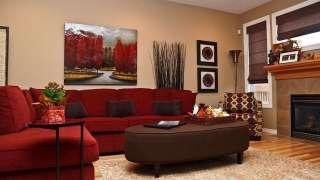 Интерьер, цвет, мебель и текстиль для маленькой комнаты