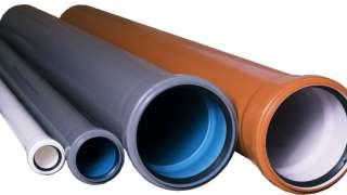 Материал канализационных труб