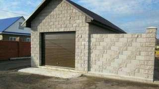 Гараж из керамзитобетонных блоков: технология строительства