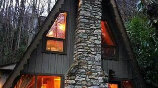 Дом шалаш