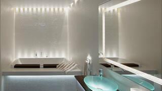 Освещение в ванной